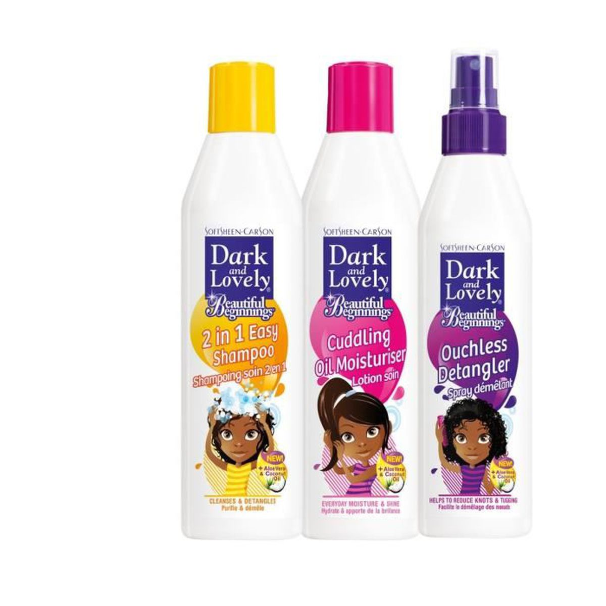 SHAMPOING Dark&Lovely : Routine gamme enfants pour cheveux e