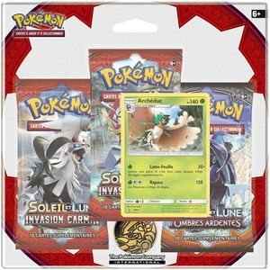 CARTE A COLLECTIONNER POKEMON Soleil et Lune 4 - Invasion Carmin - Pack