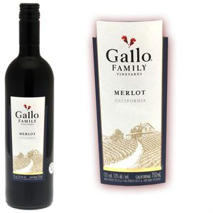 USA: Gallo Family Merlot Californie