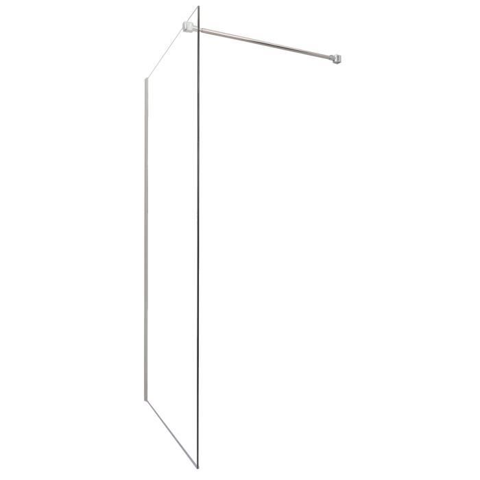 paroi de douche lat rale italienne 6mm 100cm achat vente porte de douche paroi lat rale. Black Bedroom Furniture Sets. Home Design Ideas