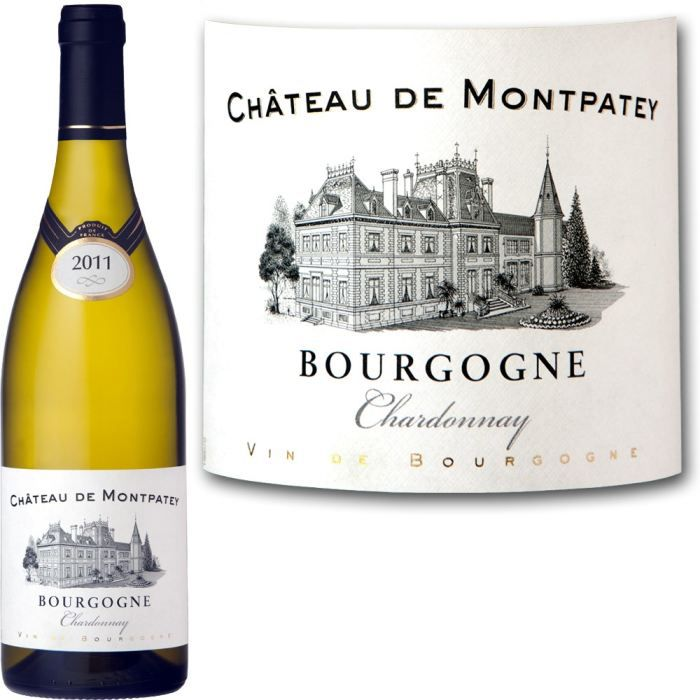 ch teau de montpatey bourgogne chardonnay 2011 achat vente vin blanc ch teau de montpatey. Black Bedroom Furniture Sets. Home Design Ideas