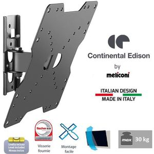 FIXATION - SUPPORT TV CONTINENTAL EDISON Support TV inclinable TV 22-40'