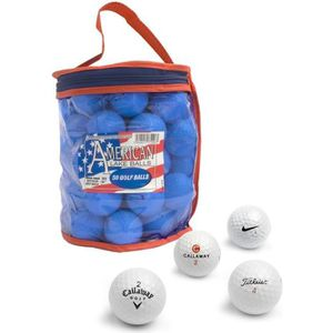BALLE DE GOLF SECOND CHANCE Sac de 50 Balles de practice de Golf