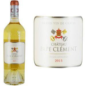 VIN BLANC Château Pape Clément Pessac Léognan 2013 - Vin bla