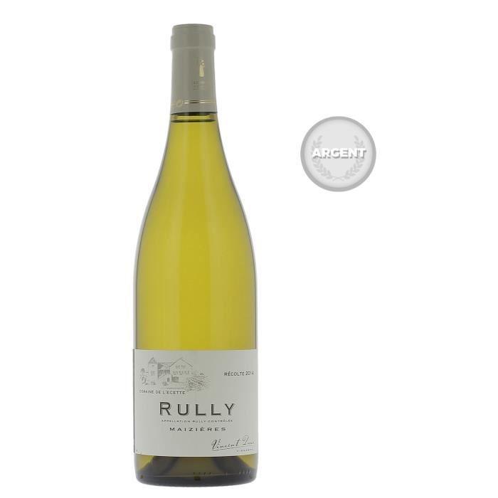 VIN BLANC Domaine de l'Ecette 2014 Rully Maizières - Vin bla