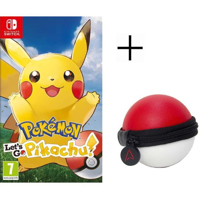 JEU NINTENDO SWITCH Pokémon : Let's go, Pikachu Jeu Switch Pokemon Go