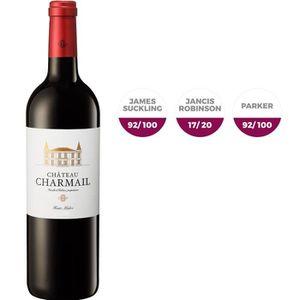 VIN ROUGE Château Charmail 2016 Haut-Médoc Vin Rouge de Bord