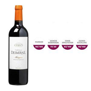 VIN ROUGE Château Desmirail  2016 Margaux - Vin Rouge de Bor