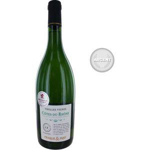 VIN BLANC Charlie & Fred Vieilles Vignes 2017 Côtes du Rhône