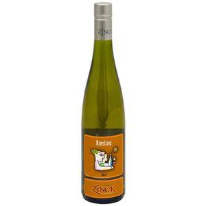VIN BLANC Domaine Zinck 2018 Alsace Riesling - Vin blanc d'A