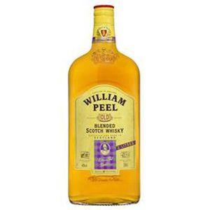 WHISKY BOURBON SCOTCH William Peel - Blend Scotch Whisky - 40% - 2 L