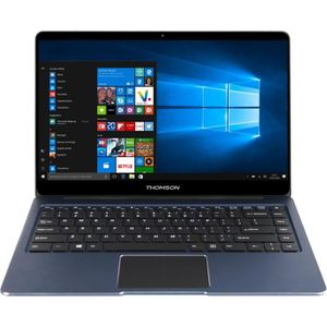 "Vente PC Portable Ordinateur Ultrabook en Aluminium - THOMSON NEOX14C-4BL32 - 14,1"" FHD - Ecran Full Glass - RAM 4Go - Stockage 32Go - Windows 10 pas cher"