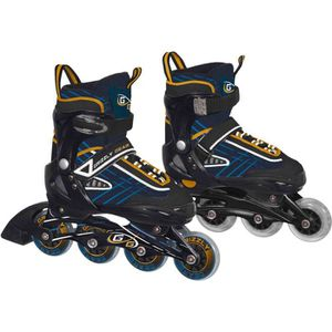 PATIN - QUAD GRIZZLY-GEAR Roller Inline Soft réglable 36/39