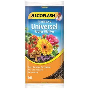 TERREAU - SABLE ALGOFLASH Terreau Universel Toutes Plantes - 40L