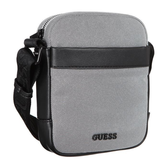 GUESS - Sacoche - Gris - Homme