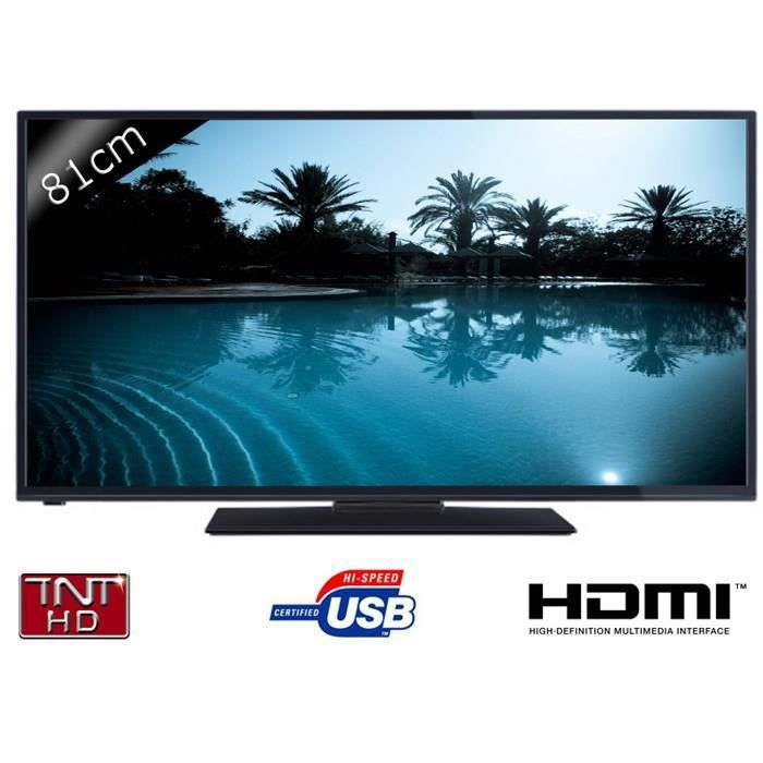 Continental edison 32280 tv led hd 81cm - Cdiscount television led ...