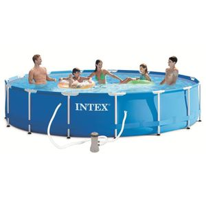 Piscine tubulaire 9m achat vente piscine tubulaire 9m for Piscine ronde intex