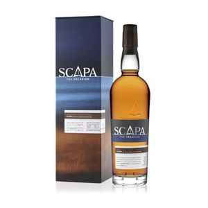 WHISKY BOURBON SCOTCH Scapa Glansa Whisky Single Malt 40% 70cl + Etui