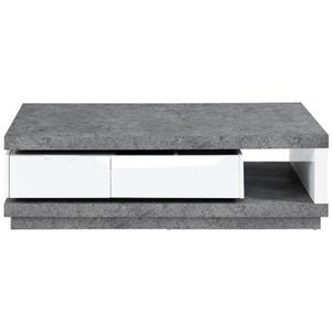 TABLE BASSE REVERSE Table basse extensible style contemporain