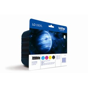CARTOUCHE IMPRIMANTE Brother LC1280XL Cartouches d'encre Multipack Coul