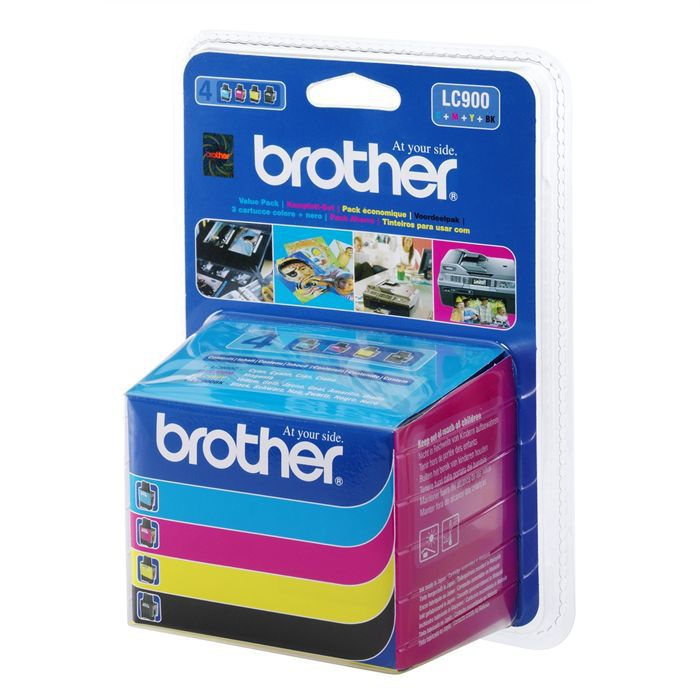 CARTOUCHE IMPRIMANTE Brother  LC900 Cartouches d'encre Multipack Couleu