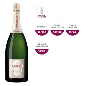 CHAMPAGNE Gosset Br. Excellence Champagne 3L + caisse