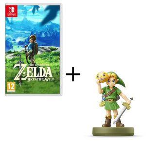 JEU NINTENDO SWITCH The Legend of Zelda : Breath of the Wild + Amiibo