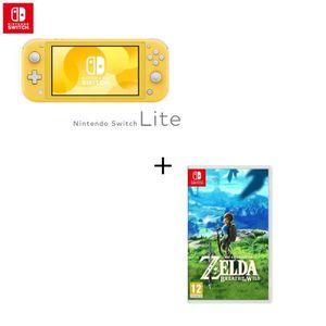 CONSOLE NINTENDO SWITCH Console Switch Lite Jaune + Jeu Switch The Legend