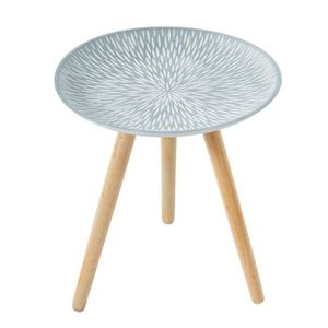 TABLE D'APPOINT PILEA Table d'appoint ronde style contemporain bla