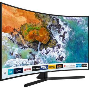 Téléviseur LED SAMSUNG UE55NU7505 TV LED incurvé 4K UHD 140 cm (5