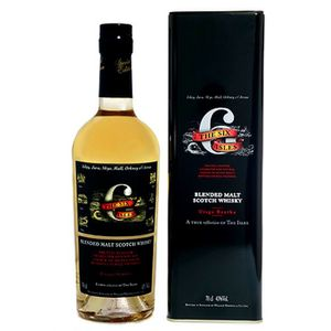 WHISKY BOURBON SCOTCH the 6 six isles  Pure Malt Whisky 70cl 43%