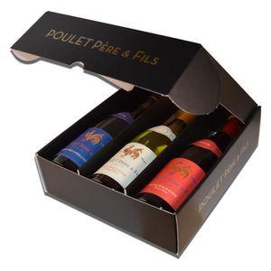 VIN BLANC Coffret Poulet Bourgogne 3 couleurs