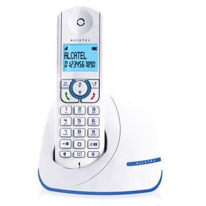 Téléphone fixe Alcatel F390 Solo Téléphone Sans Fil Sans Répondeu