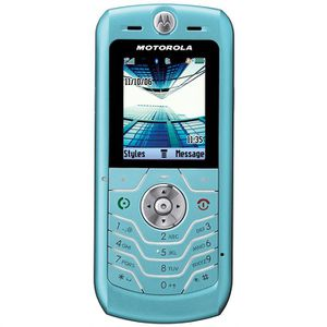 TELEPHONE PORTABLE MOTOROLA L6 BLEU Bloqué Virgin Mobile