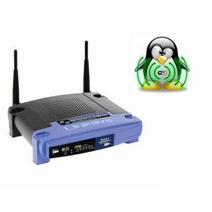 MODEM - ROUTEUR LINKSYS WRT54GL Routeur sans fil Wifi 54G Open sou