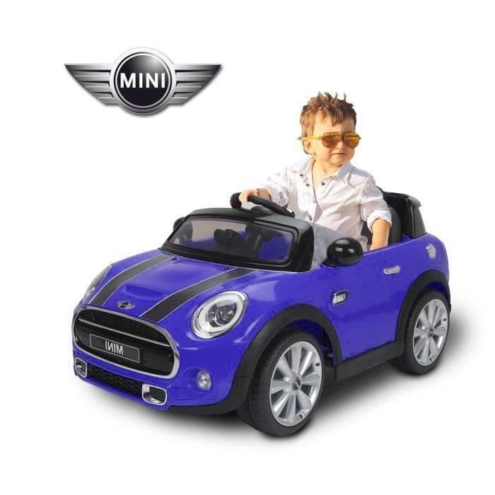 mini hatch voiture lectrique enfant bleu achat vente voiture enfant cdiscount. Black Bedroom Furniture Sets. Home Design Ideas