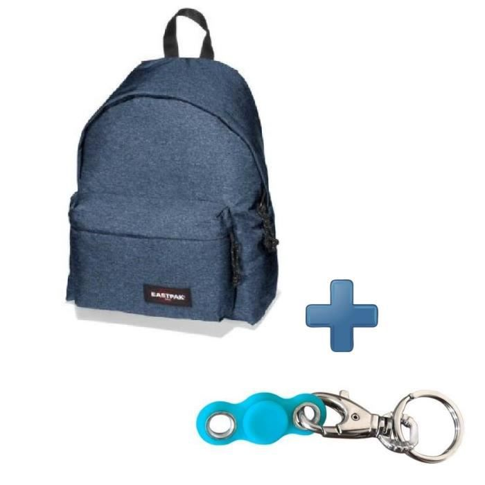 SAC À DOS Pack EASTPAK EK62082D Bleu Denim + My pocket Spinn