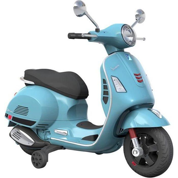 VESPA Scooter électrique enfant 12V Bleu