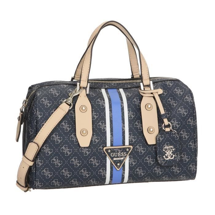 GUESS Sac à main Femme LOGO SPORT LARGE BOX SATCHEL