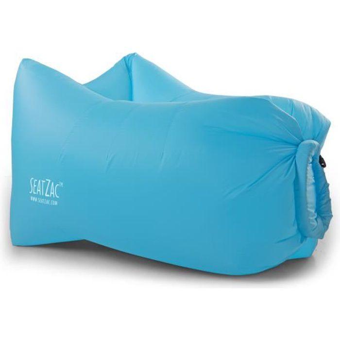 Seatzac Fauteuil Gonflable En Polyester Avec Light Kit Led 100x70x80cm Bleu Achat Vente Chaise Longue Fauteuil Gonflable Bleu Cdiscount