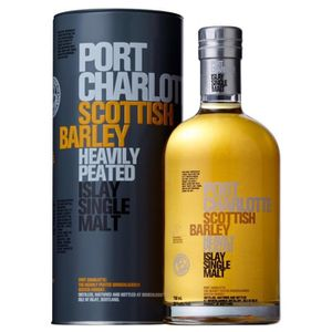 WHISKY BOURBON SCOTCH Port Charlotte Barley 50° 70cl