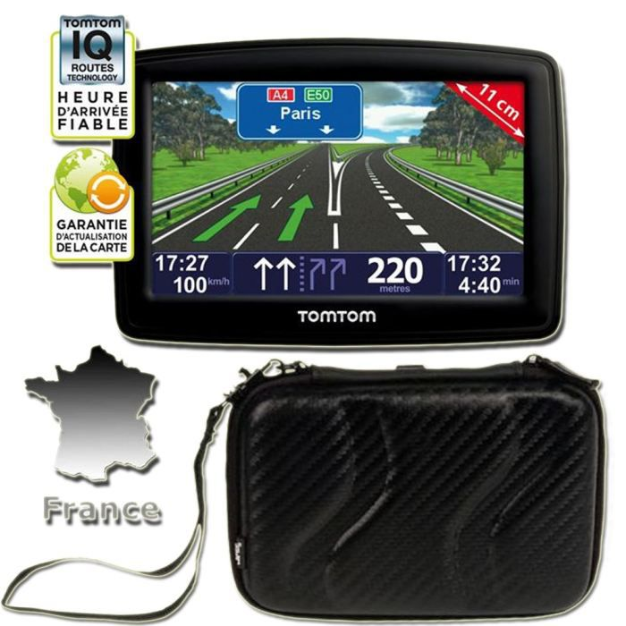GPS AUTO GPS TomTom XL Classic France + Housse T'nB