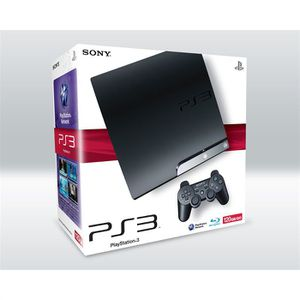 CONSOLE PS3 SONY PS3 SLIM 120 Go