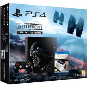 CONSOLE PS4 PS4 1 To + Star Wars Battlefront Edition Deluxe