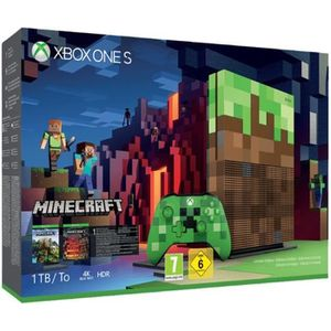 CONSOLE XBOX ONE Xbox One S 1To Minecraft Limitée