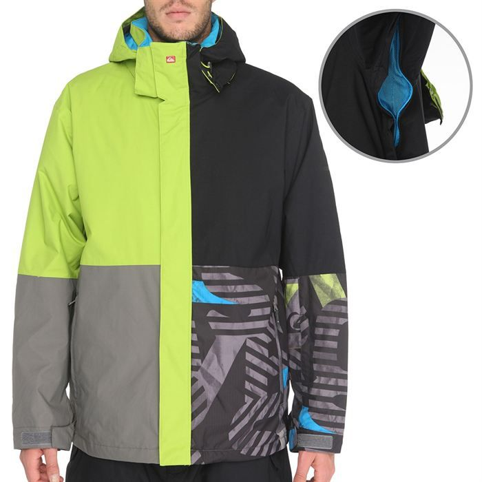 quiksilver veste ski capuchequarter h achat vente veste quiksilver veste ski quarter h. Black Bedroom Furniture Sets. Home Design Ideas