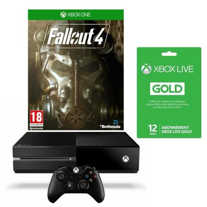 xbox one 1 to noire fallout 4 fallout 3 abonnement. Black Bedroom Furniture Sets. Home Design Ideas