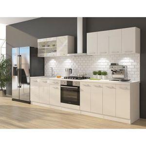 CUISINE COMPLÈTE ULTRA Cuisine complète avec meuble four et plan de