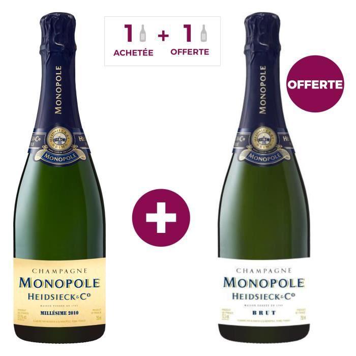 CHAMPAGNE 1 Champagne Heidsieck Monopole Millésimé acheté =