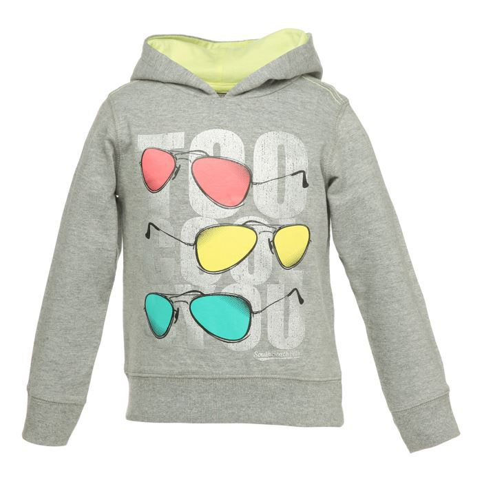 tout simplement bebe sweat capuche enfant fille gris achat vente sweatshirt tout simpl b. Black Bedroom Furniture Sets. Home Design Ideas